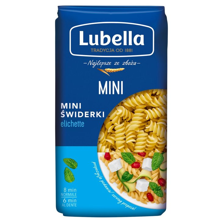 Lubella Makaron mini świderki 400 g (2)