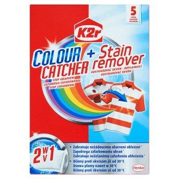K2r Colour Catcher + Stain Remover Saszetki 150 g (5 sztuk) (1)