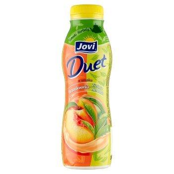 Jovi Duet Smaki Herbaty Napój jogurtowy o smaku brzoskwinia-zielona herbata 350 g (1)