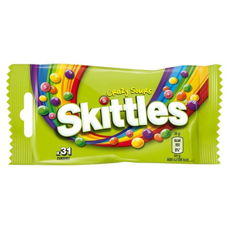 Skittles Crazy Sours Cukierki do żucia 38 g (31 sztuk) (1)