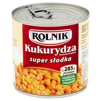 Rolnik Kukurydza konserwowa super słodka 340 g (1)