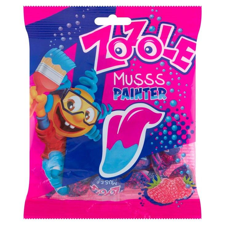 Zozole Musss Painter Cukierki barwiące język o smaku malinowym 75 g (1)