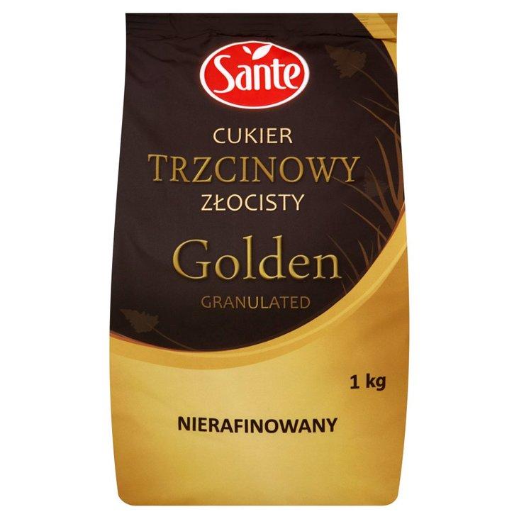 Sante Golden Granulated Cukier trzcinowy złocisty nierafinowany 1 kg (1)