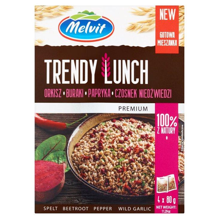 Melvit Premium Trendy Lunch okisz buraki papryka czosnek niedźwiedzi 320 g (4 x 80 g) (2)
