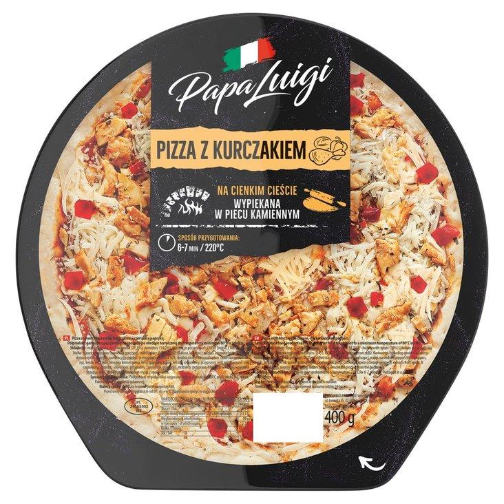 Papa Luigi Pizza z kurczakiem 400 g (1)