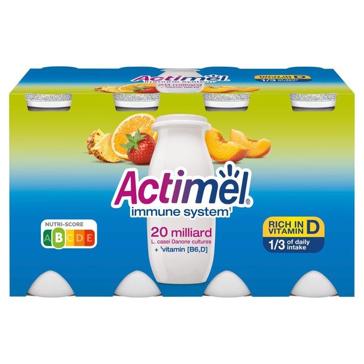 Actimel Mleko fermentowane o smaku wieloowocowym 800 g (8 x 100 g) (1)