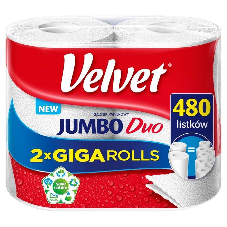 Velvet Jumbo Duo Ręcznik papierowy 2 rolki (2)