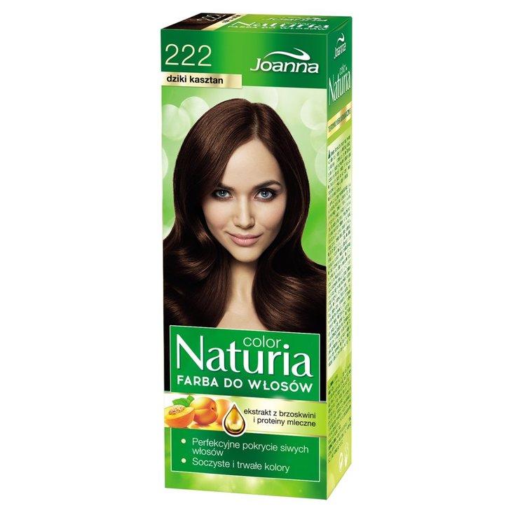 Joanna Naturia color Farba do włosów dziki kasztan 222 (1)