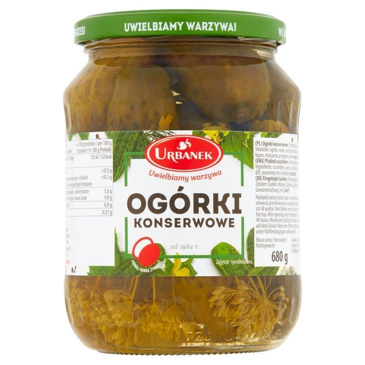 Urbanek Ogórki konserwowe 680 g (2)