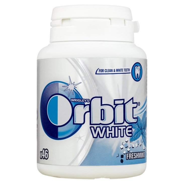 Orbit White Freshmint Guma do żucia bez cukru 64 g (46 drażetek) (1)