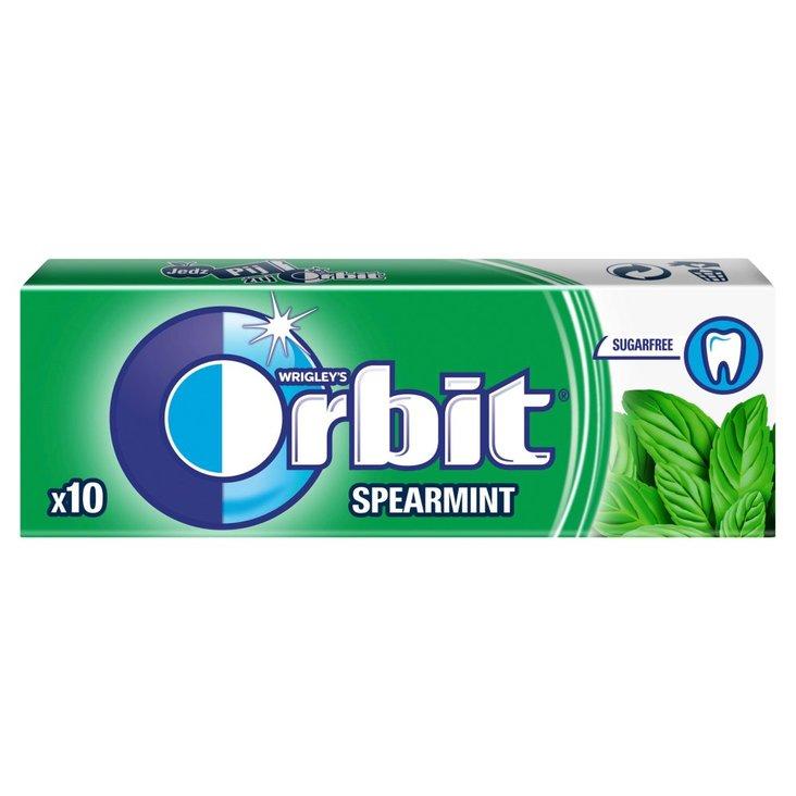Orbit Spearmint Guma do żucia bez cukru 14 g (10 drażetek) (2)