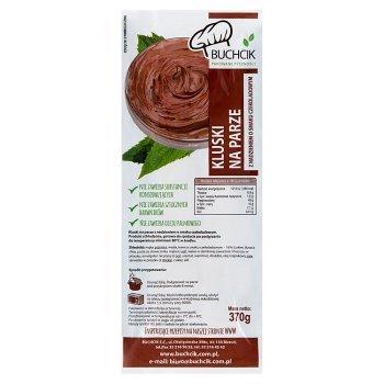 Buchcik Kluski na parze z nadzieniem o smaku czekoladowym 370 g (1)