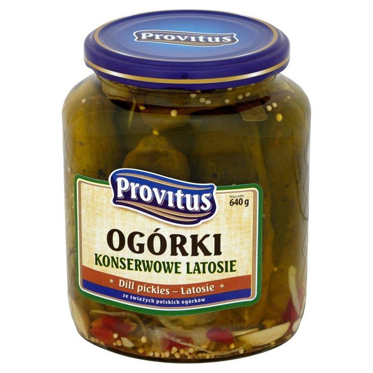Provitus Ogórki konserwowe latosie 640 g (1)