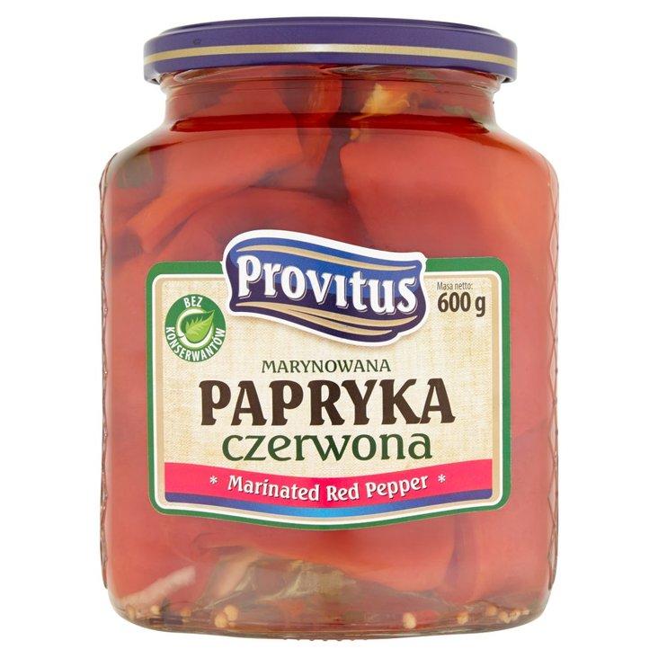 Provitus Marynowana papryka czerwona 600 g (2)