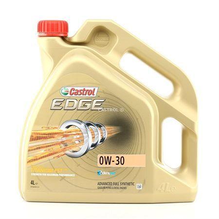 CASTROL EDGE Olej silnikowy  0W-30, 4l, Olej syntetyczny (1)