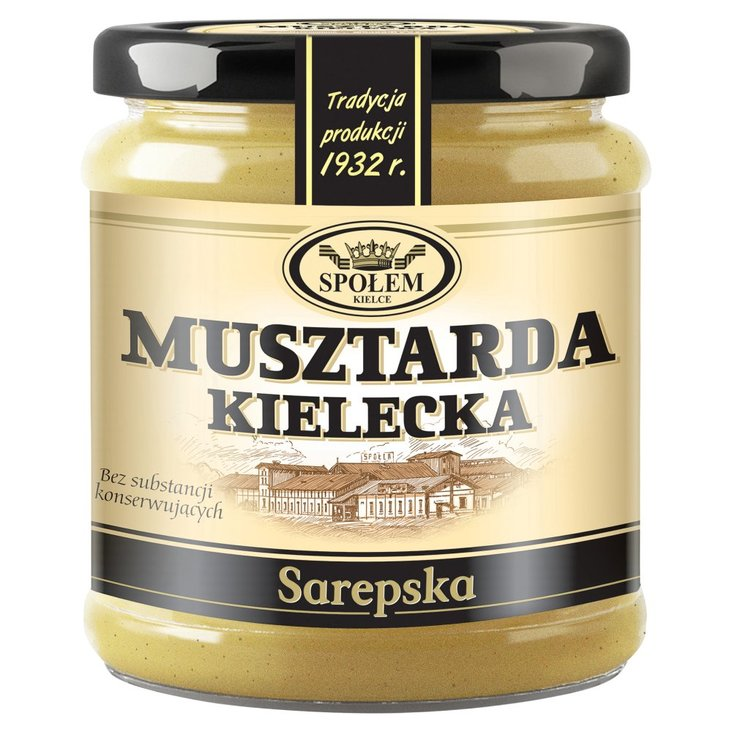 Musztarda Kielecka sarepska 190 g (1)