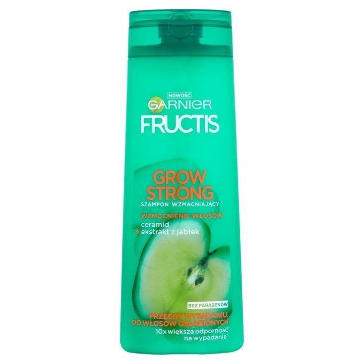Garnier Fructis Grow Strong Szampon wzmacniający przeciw wypadaniu do włosów osłabionych 400 ml (1)