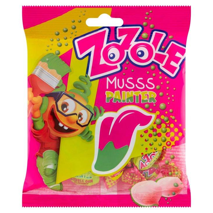 Zozole Musss Painter Cukierki barwiące język o smaku gumy balonowej 75 g (1)