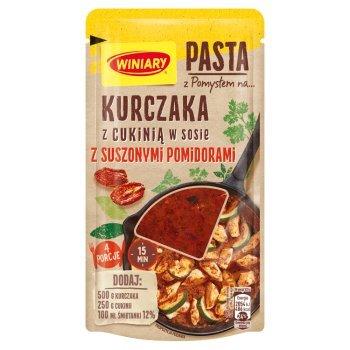 Winiary Pasta z pomysłem na... kurczaka z cukinią w sosie z suszonymi pomidorami 80 g (1)
