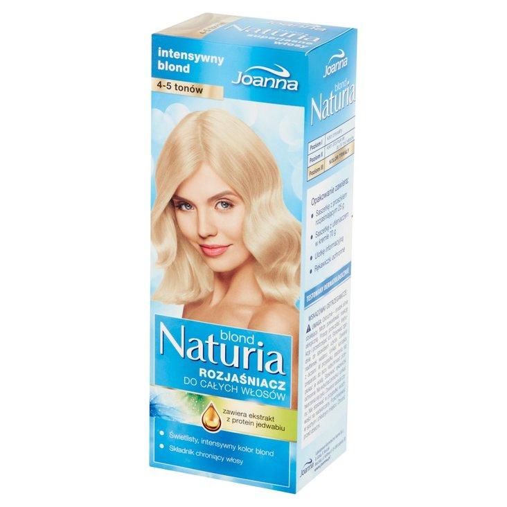Joanna Naturia blond Rozjaśniacz do całych włosów 4-5 tonów (1)