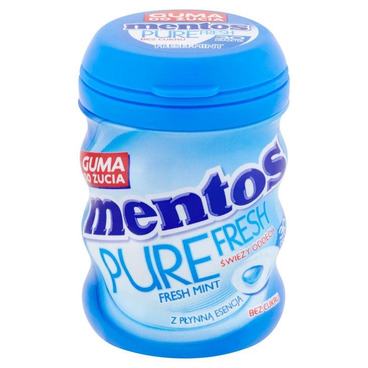 Mentos Pure Fresh Fresh Mint Guma do żucia bez cukru 60 g (30 sztuk) (1)