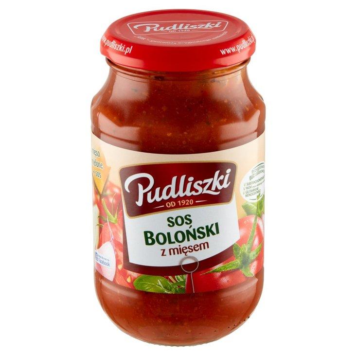Pudliszki Sos boloński z mięsem 450 g (1)