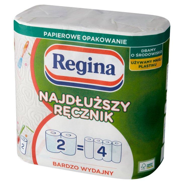 Regina Najdłuższy Ręcznik papierowy uniwersalny 2 rolki (1)