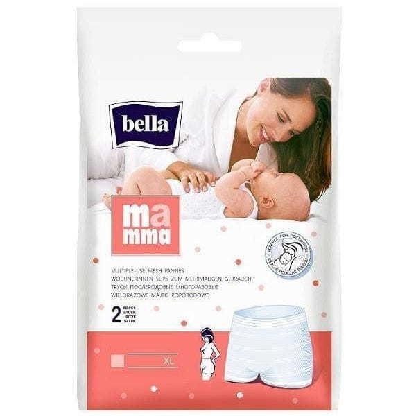Bella Mamma Majtki poporodowe rozmiar XL 2szt (1)