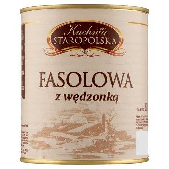 Kuchnia Staropolska Fasolowa z wędzonką 800 g (2)
