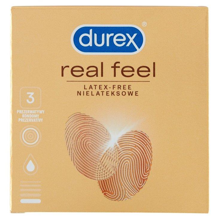 Durex Real Feel Prezerwatywy nielateksowe 3 sztuki (2)