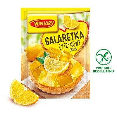 Winiary Galaretka cytrynowy smak 71 g (1)