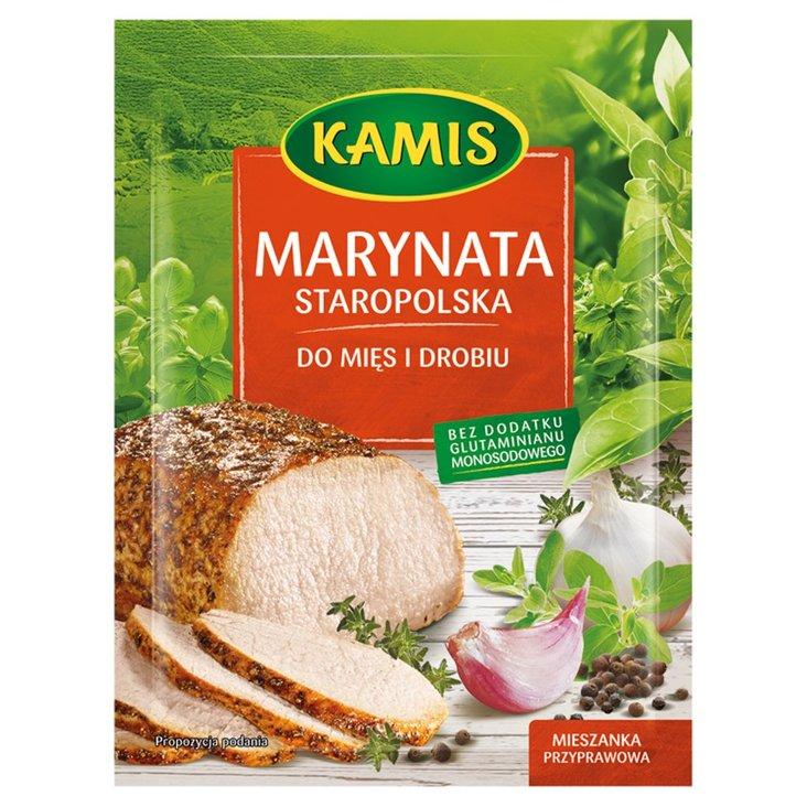 Kamis Marynata staropolska do mięs i drobiu Mieszanka przyprawowa 20 g (1)