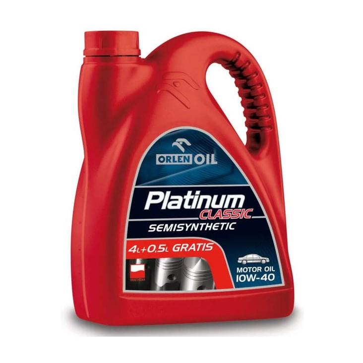 Olej Platinum Classic SemiSynthetic 10W-40 4,5 l (1)