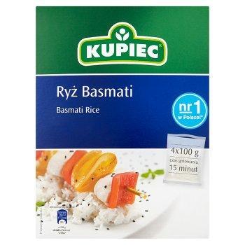 Kupiec Ryż basmati 400 g (4 torebki) (2)