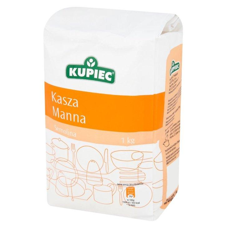 Kupiec Kasza manna 1 kg (1)