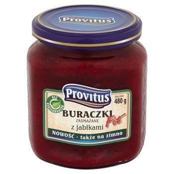 Provitus Fit Buraczki zasmażane z jabłkami 480 g (1)