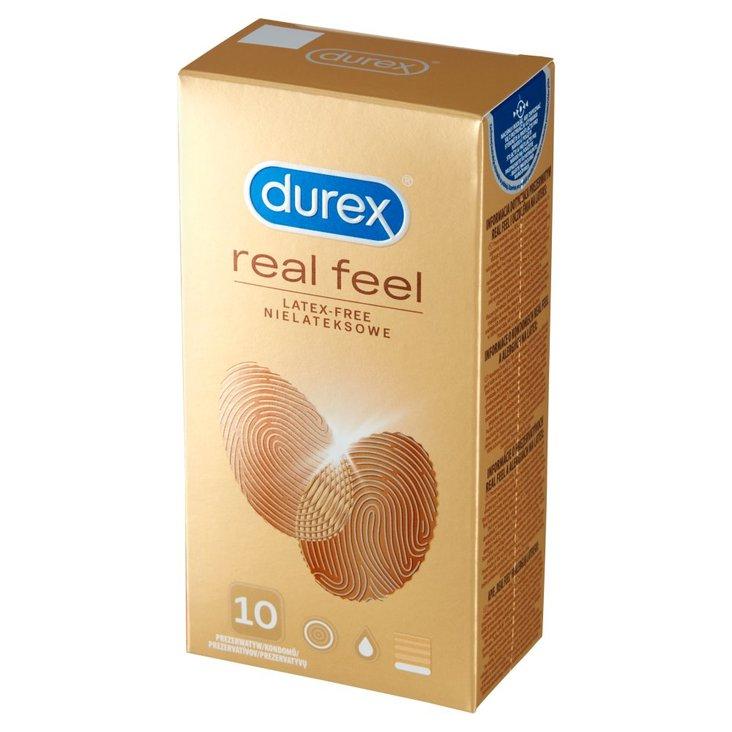 Durex Real Feel Prezerwatywy nielateksowe 10 sztuk (1)