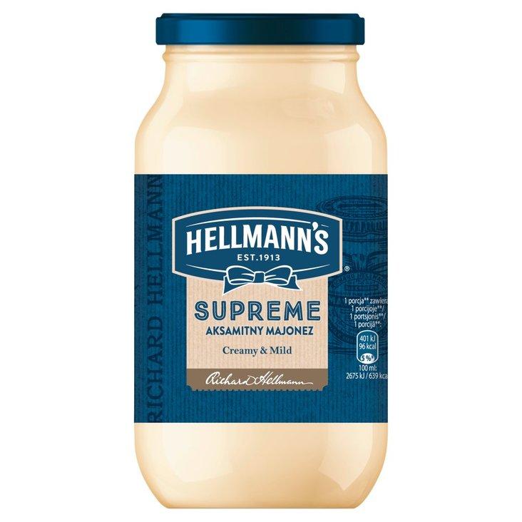 Hellmann's Supreme Aksamitny Majonez 420 ml (1)