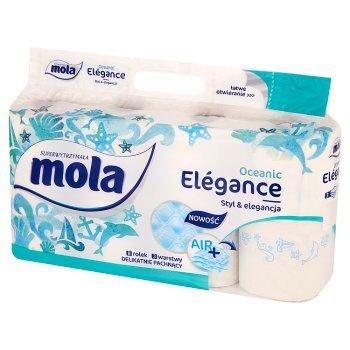Mola Elégance Oceanic Papier toaletowy 8 rolek (1)