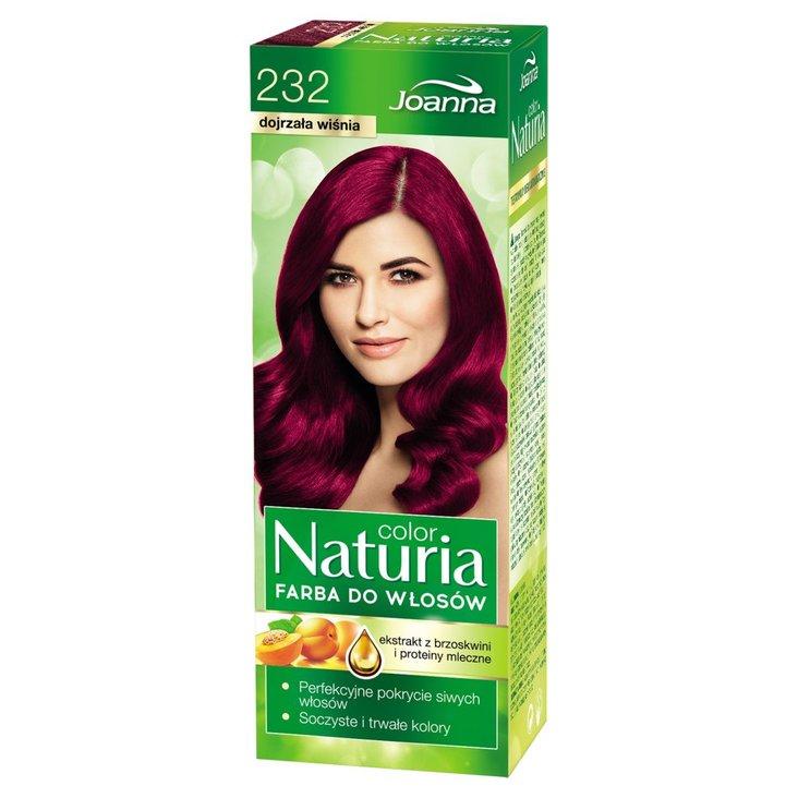 Joanna Naturia color Farba do włosów dojrzała wiśnia 232 (1)