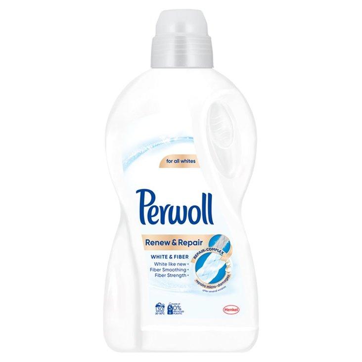 Perwoll Renew & Repair White & Fiber Płynny środek do prania 1,8 l (30 prań) (1)