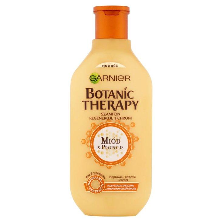 Garnier Botanic Therapy Szampon do włosów bardzo zniszczonych Miód & propolis 400 ml (1)