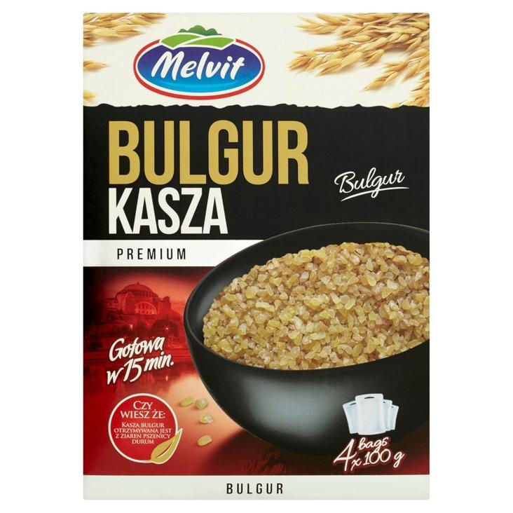Melvit Premium Kasza bulgur 400 g (4 x 100 g) (2)