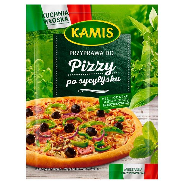 Kamis Kuchnia Włoska Przyprawa do pizzy po sycylijsku Mieszanka przyprawowa 15 g (1)