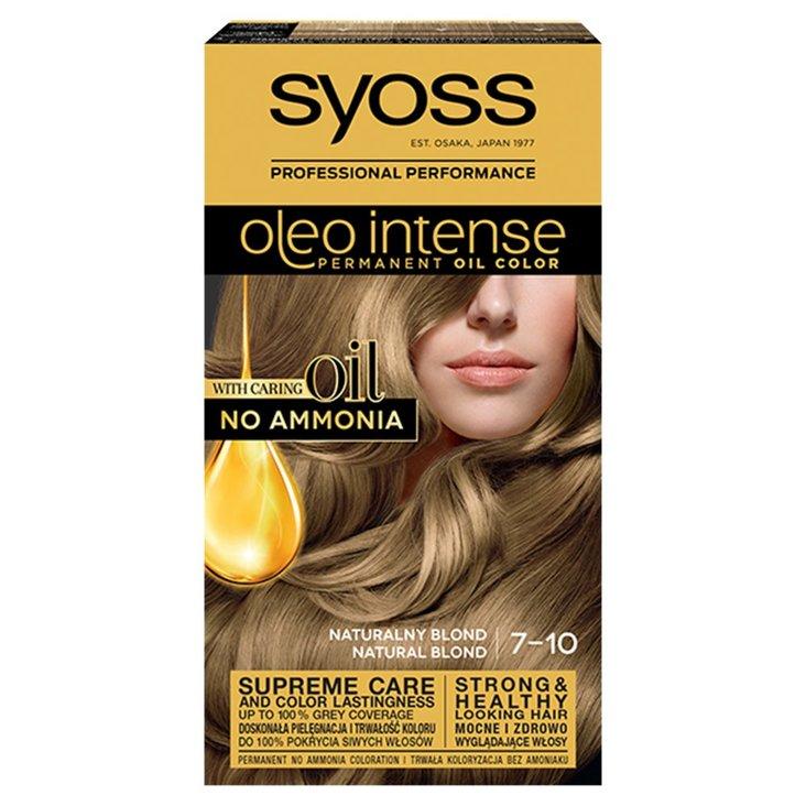 Syoss Oleo Intense Farba do włosów naturalny blond 7-10 (1)