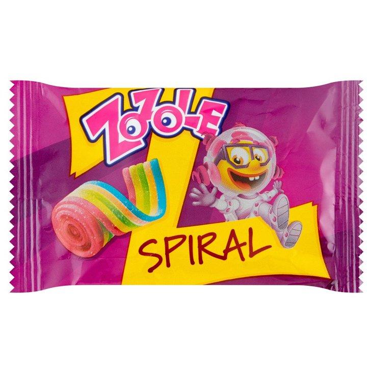 Zozole Spiral Tęczowe żelki o smaku truskawkowym 19 g (1)