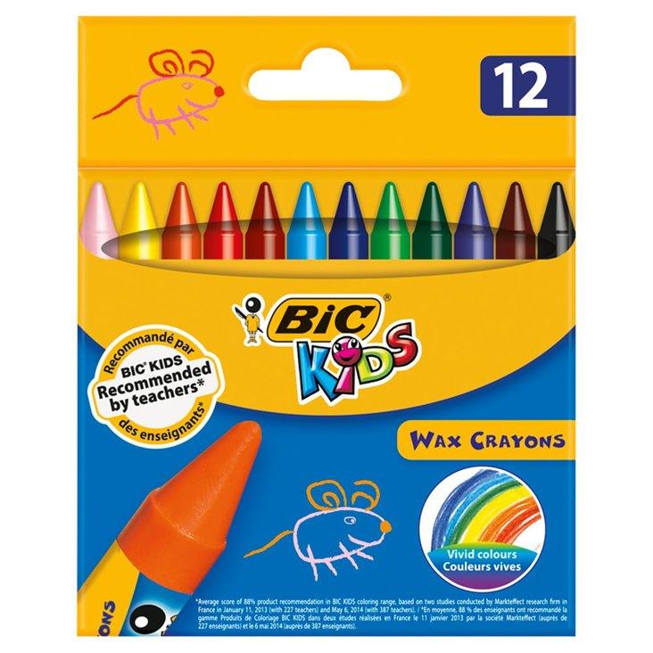 BiC Kids Kredki świecowe 12 kolorów (1)
