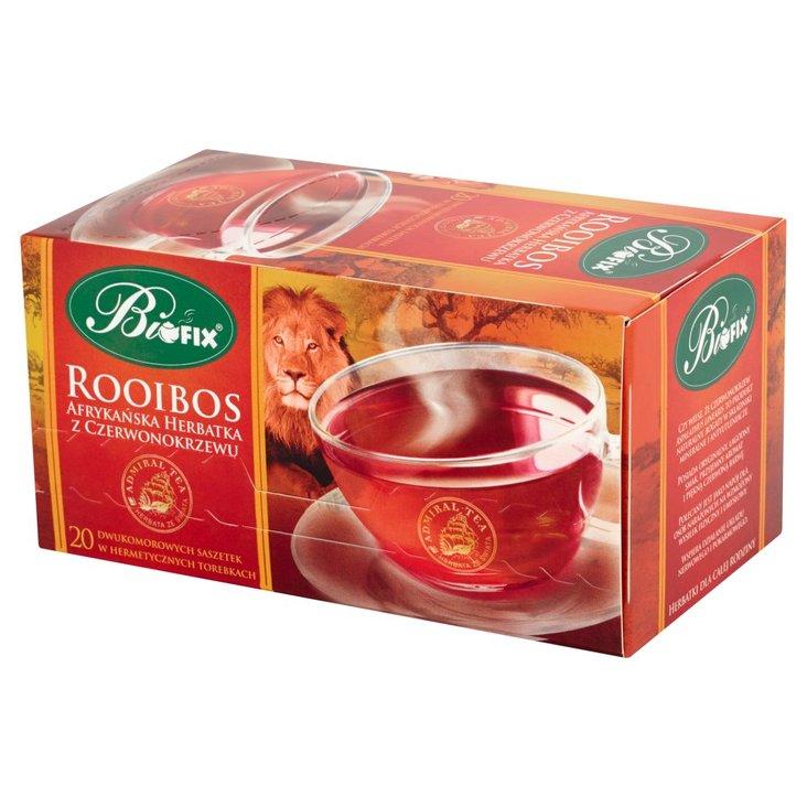 Bifix Admiral Tea Rooibos Afrykańska herbatka z czerwonokrzewu 40 g (20 saszetek) (1)