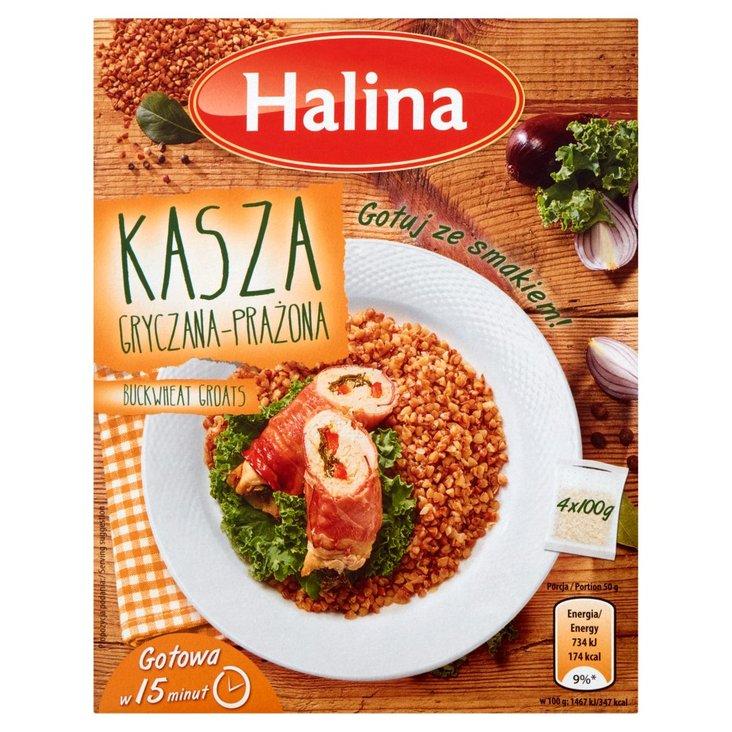 Halina Kasza gryczana prażona 400 g (4 torebki) (2)