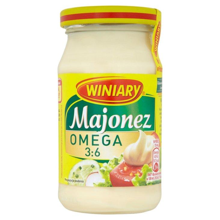 Winiary Majonez Omega 3:6 250 ml (2)